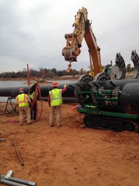 Underwater Utility Directional Bore Collin County, TX
